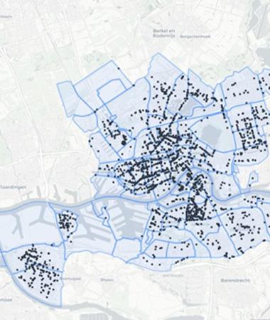 Subjectieve verkeersveiligheid in Rotterdam
